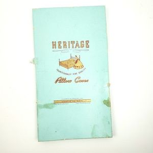 Heritage Bedding - Vintage Heritage Embroidered Pillowcases